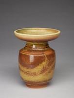 Bulb Vase, David Puxley, Wedgwood, glazed stoneware