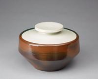 Bowl with Cover, David Puxley, Wedgwood, glazed stoneware