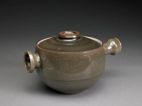 Pot with Cover, David Puxley, Wedgwood, glazed stoneware