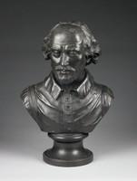 Basalt bust of Shakespeare