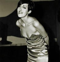 Girl in a Shiny Dress, New York City 1967, Diane Arbus, gelatin silver print