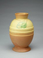 "Futura vase, ""Egg with Leaves"" shape 428-8"""