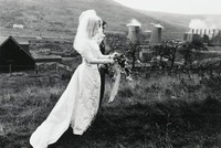 Wales Bride and Groom on Hillside, Bruce Davidson, gelatin silver print