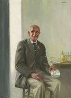 Portrait of Dr. George Washington Carver (1864-1943), Arthur Leroy Bairnsfather, oil on canvas