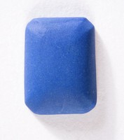 Rectangular dark blue jasper cameo blank