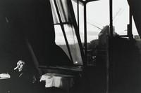 Widow of Montmartre #11, Bruce Davidson, toned gelatin silver print