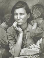 Migrant Mother, Nipomo, California, Photograph by Dorothea Lange, Photogravure by Jon Goodman, photogravure