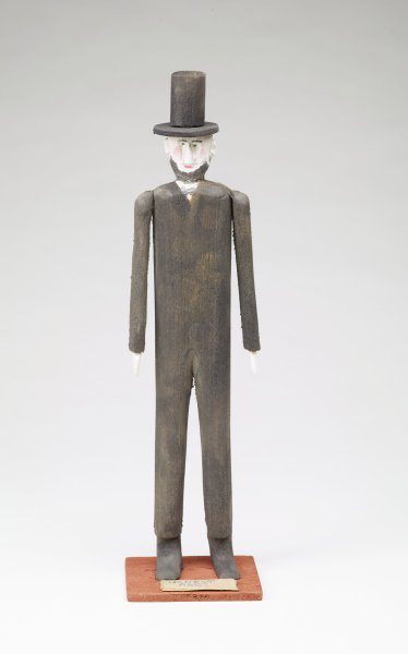 Abraham Lincoln (#1), Fred Webster, painted wood