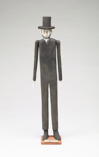 Abraham Lincoln (#2), Fred Webster, painted wood
