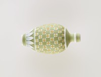 Tri-color diced jasper (green, yellow, and white) bell pull