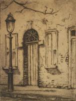 Cat-fish Row, Charleston, Elizabeth O'Neill Verner, etching