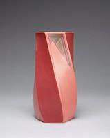 "Futura vase, ""Hexagon Twist"", shape 425-8"""