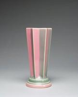 """Futura vase, """"Pleated Star"""", shape 385-8"""""""