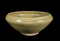 Green-Glazed Bowl, Vietnam, glazed stoneware