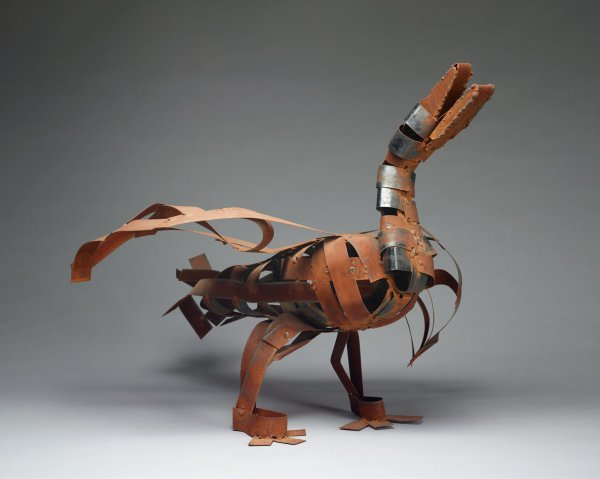 Untitled (Duck or Goose), Charlie Lucas, metal