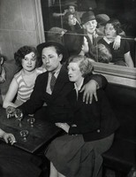 A Happy Group at the Quatre Saisons, Brassaï, gelatin silver print