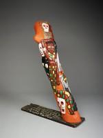Voodoo/Tree of Life, Herbert Singleton, painted wood