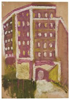 Grady Hospital in Atlanta, where the artist's sister died