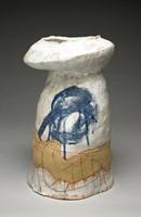 Free-form vase or pedestal by Anita