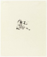 Untitled, Ellen Gallagher, lithograph on Tanbo paper