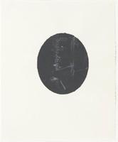 Untitled, Ellen Gallagher, screenprint and etching on Okawara paper