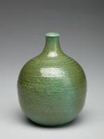 Vase, Elwyn James, or David Puxley, Wedgwood, glazed stoneware