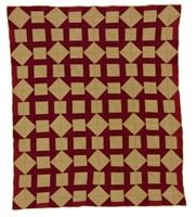 Monkey Wrench quilt, from Frank Boykin