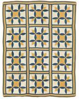 Turkey Tracks variation quilt