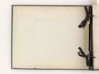 An album of fifty-six photographs of various scenes in China prior to 1891, the date on the inside cover of the album. Some of the pictures are studio works by Pow Kee and Albert Reising Begs, some are amateur works by Dr. Hardmann Kinnear. Each photograph is annotated with its subject matter. Bound in a blue cloth binding.