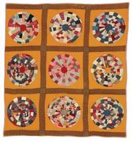 Spiderweb Wheel quilt