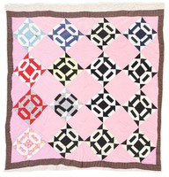 Chain quilt.