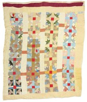 Possibly hands all around variation quilt.