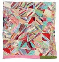 Tied string quilt.
