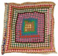 Small blocks quilt.