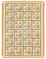 Carolina Lily quilt, same maker as an earlier Cargo quilt