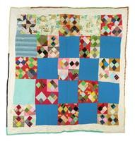 Four patch quilt.