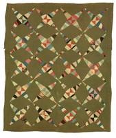 Four-Pointed Stars quilt