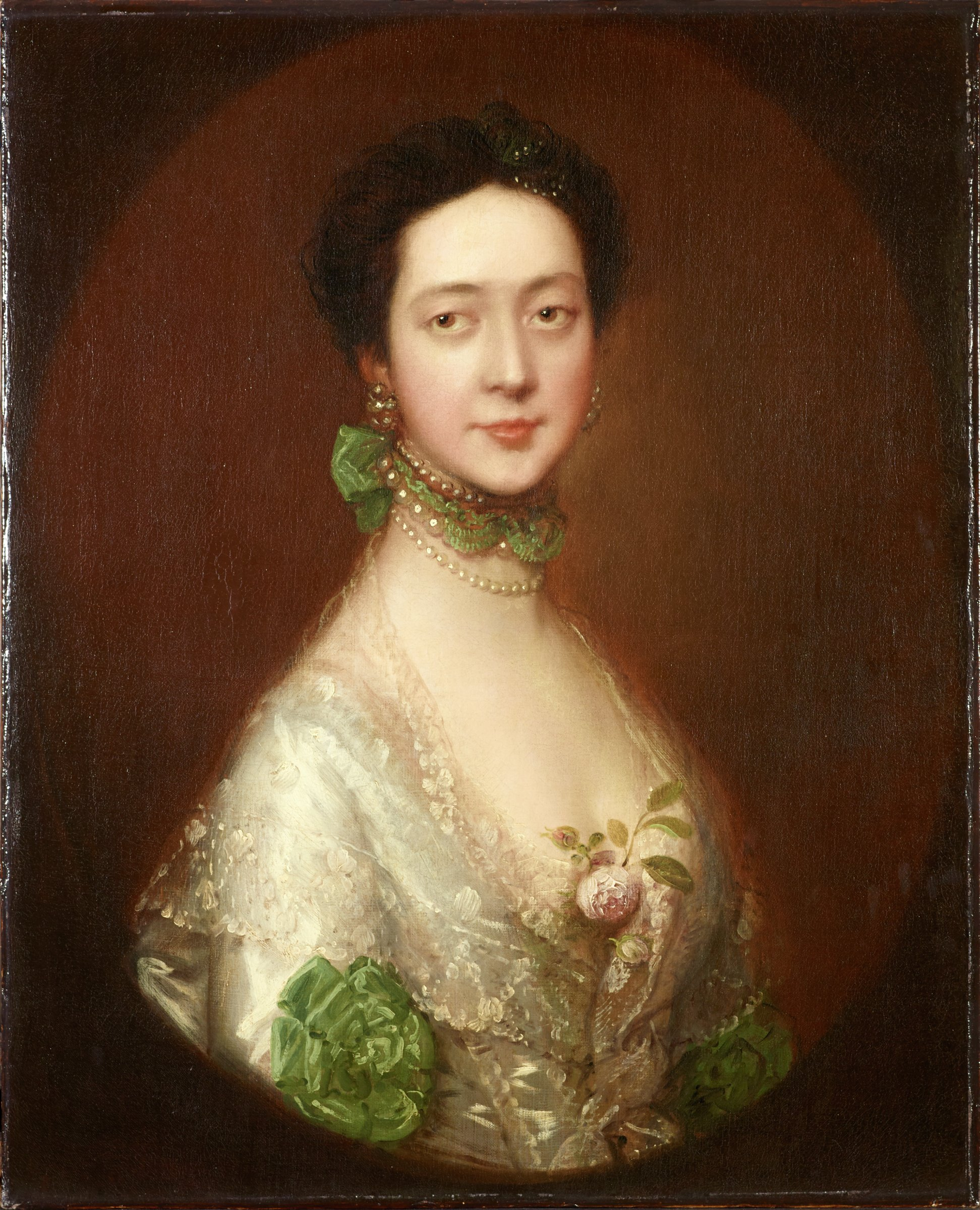 Mrs. William Monck died in 1775 according to Waterhouse 1958, p. 81, no. 489. Born Dorothy Bligh. John Bligh, the first Earl of Darnley is her brother, he died on Sept. 12, 1728.