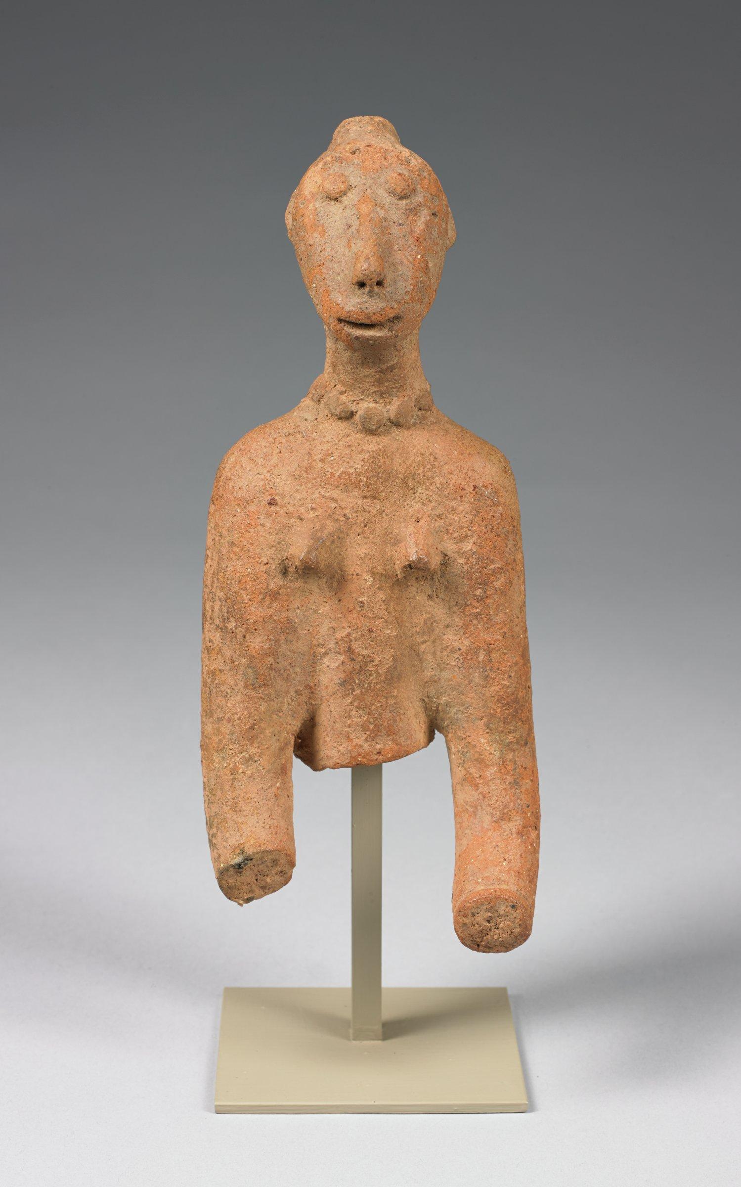 Female Figure, Bankoni culture, Mali, African, fired clay