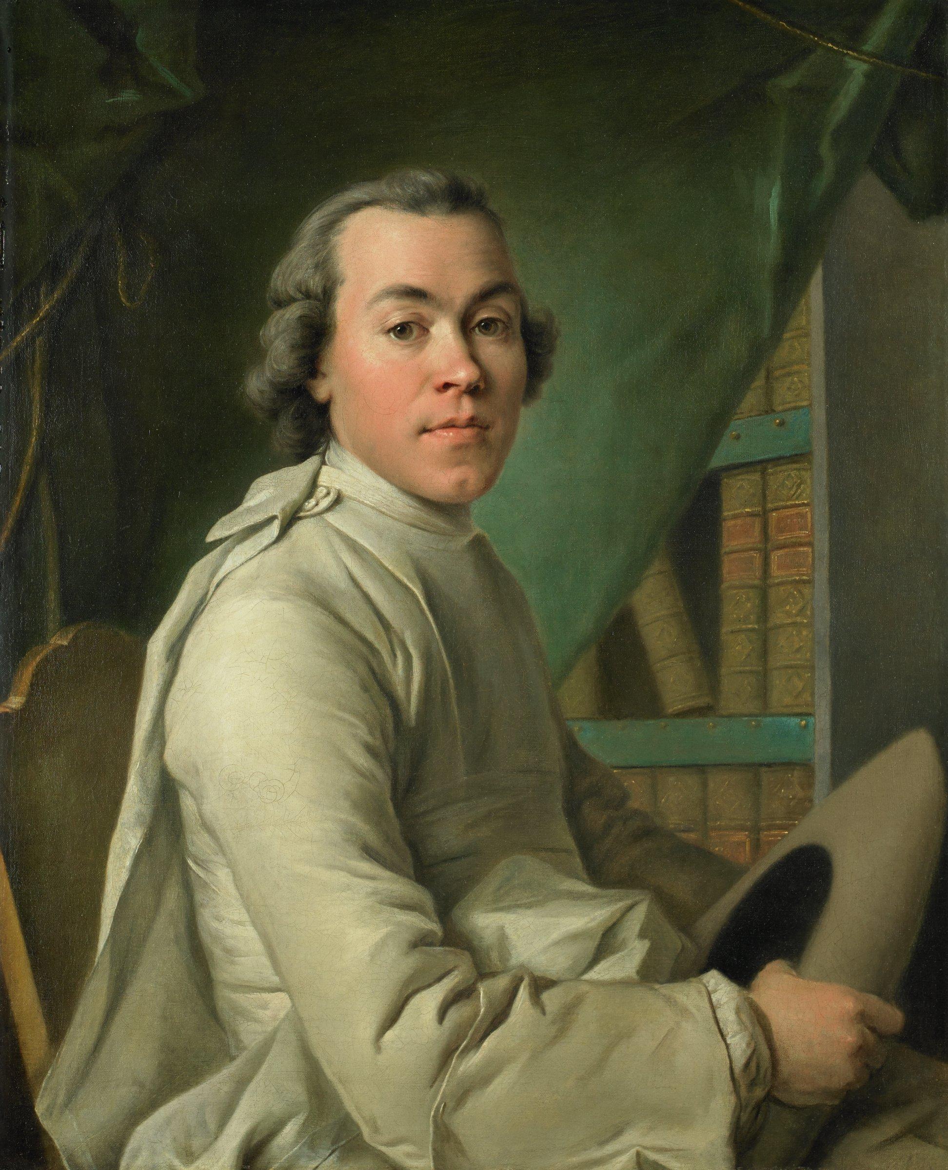 Nicolas de la Pinte de Livry, Louis Tocqué, oil on canvas