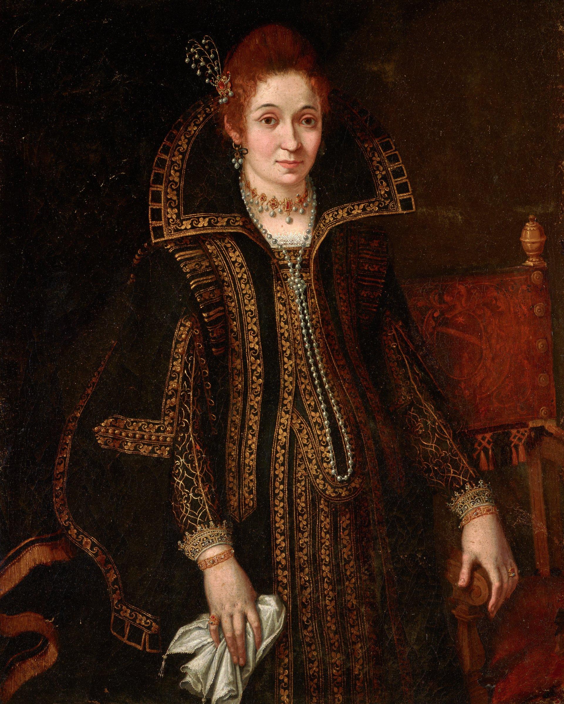 Portrait of a Lady, Lavinia Fontana, oil on canvas
