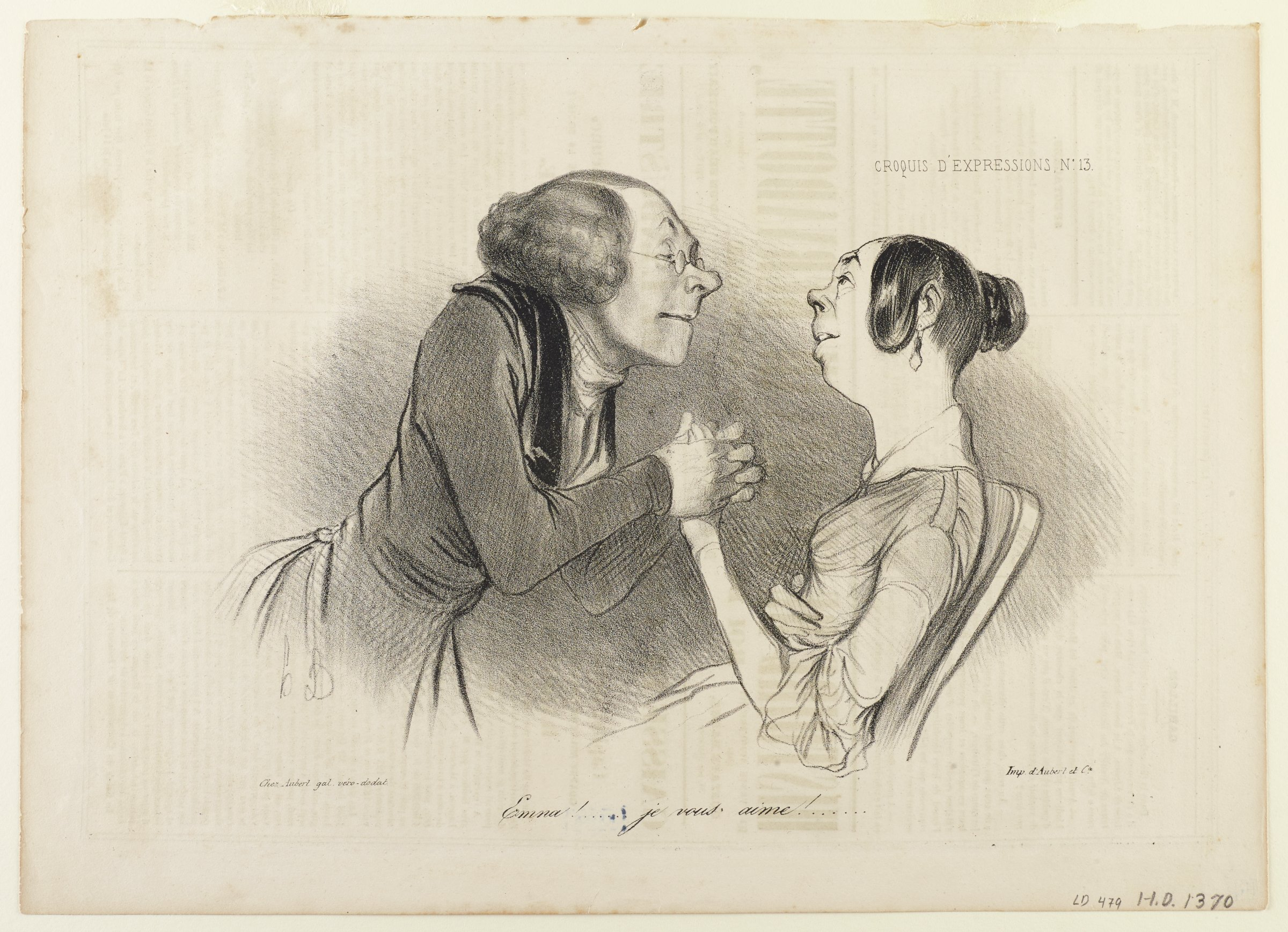 An older woman holds the hand of a younger woman as they look at each other.