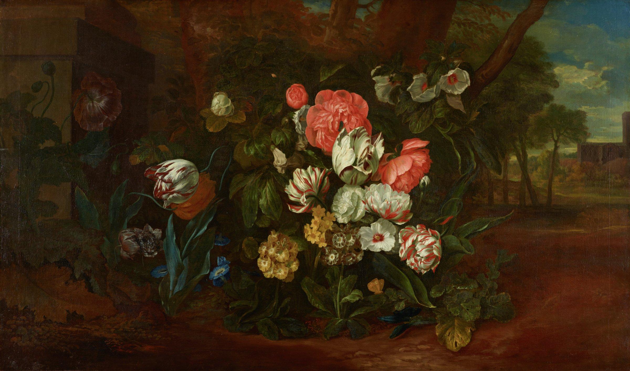Still Life, Pieter Andreas Rysbrack, oil on canvas