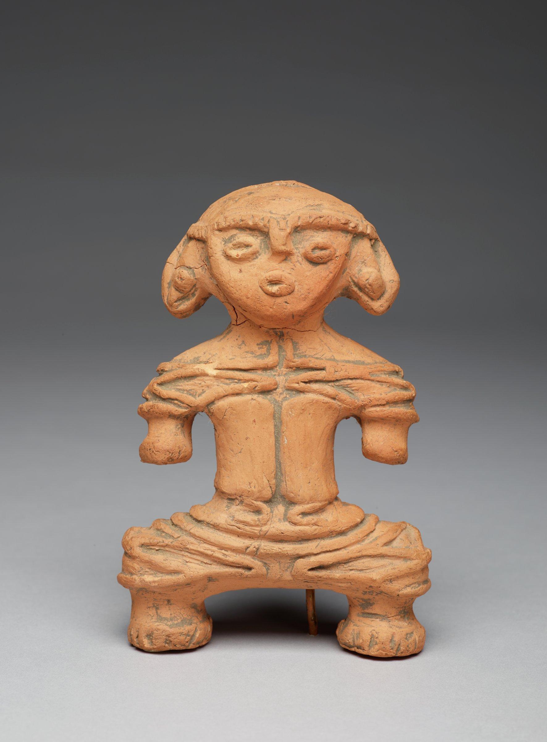 Votive Figure (Dogu), Japan, clay