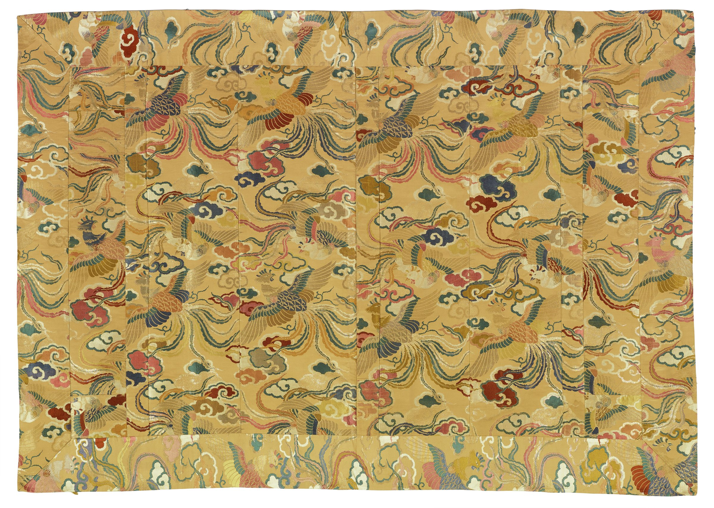 Priest's Robe (Kesa), Japan, silk and metallic thread