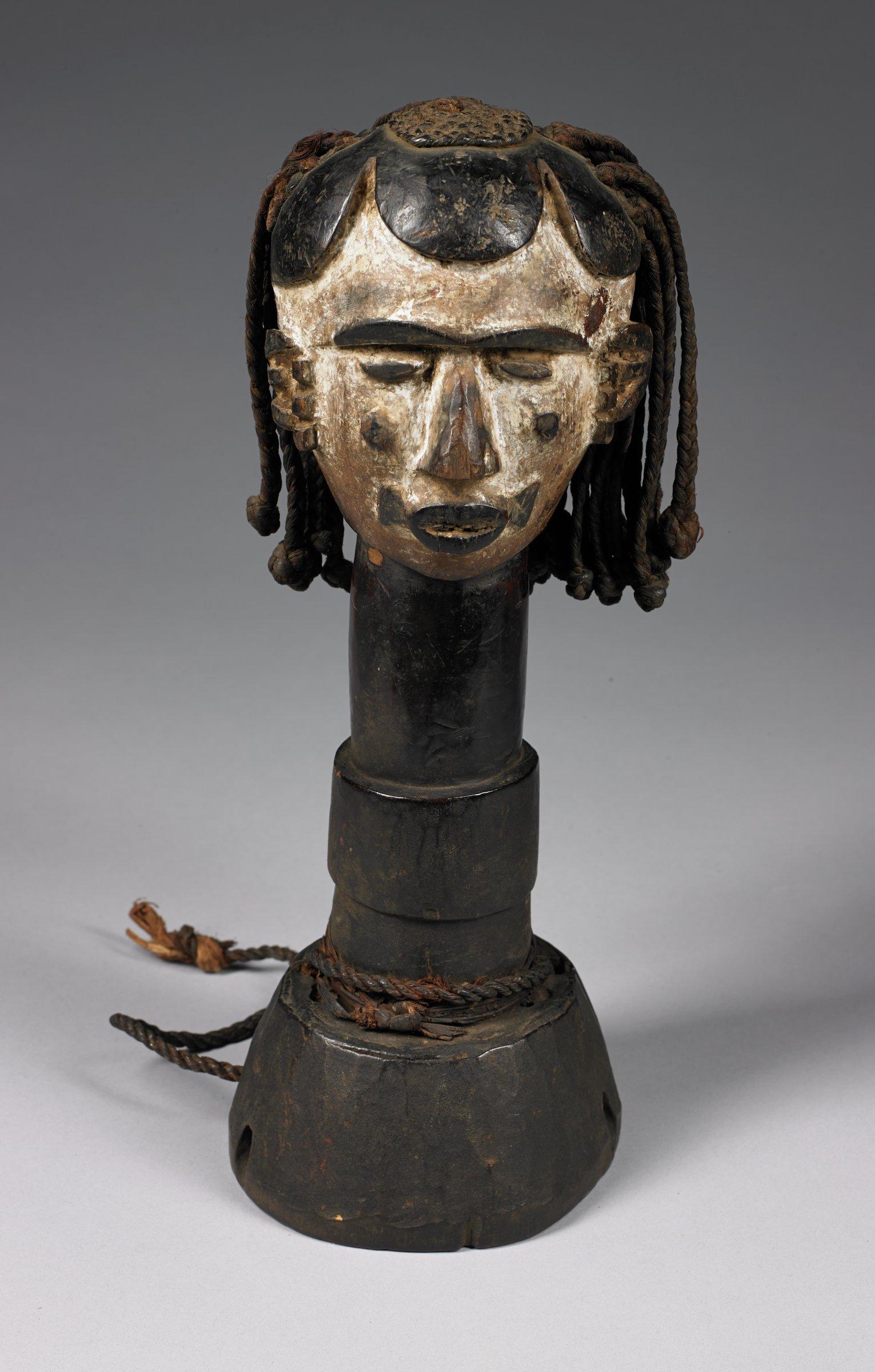 Female head with braid