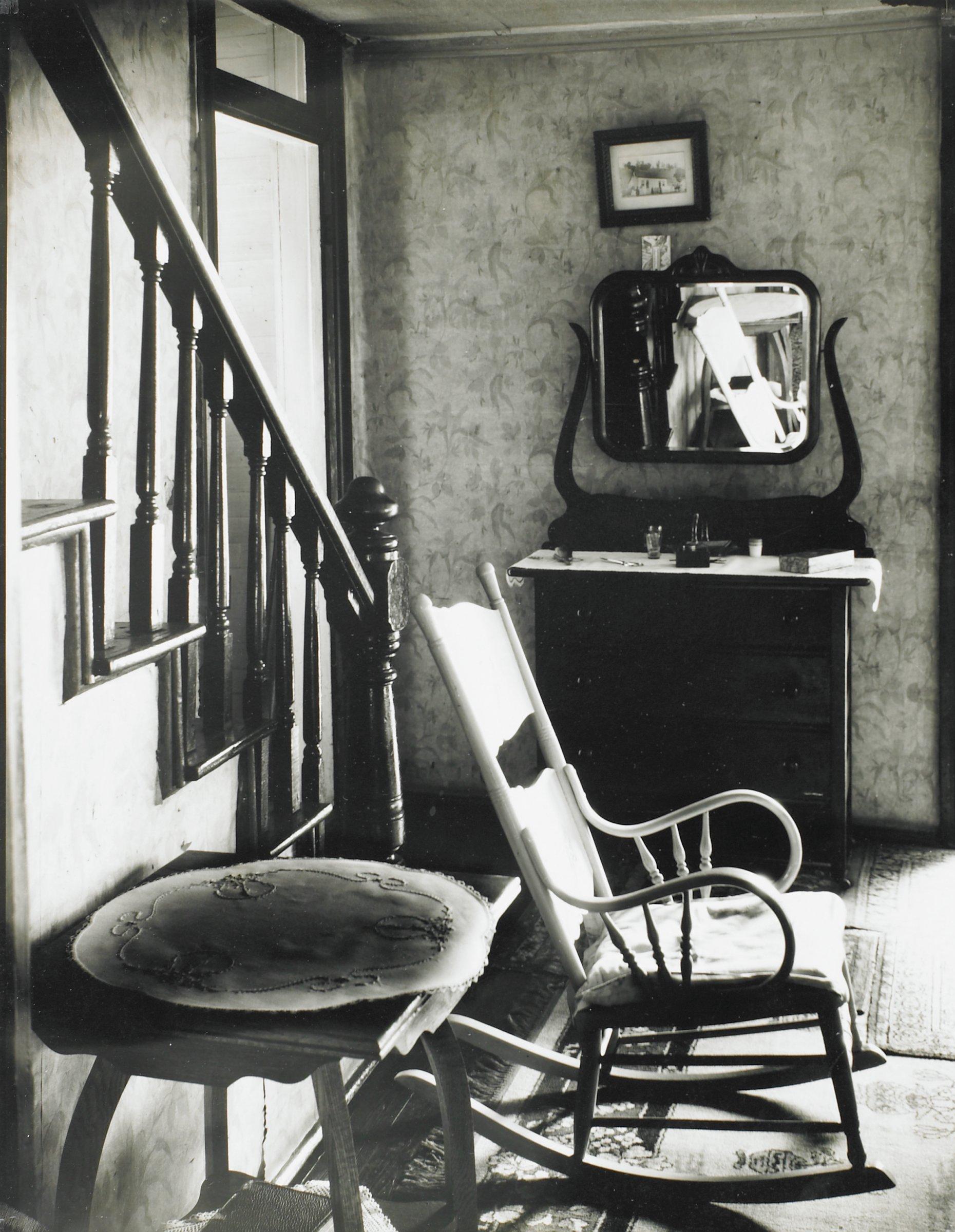 An Unemployed Worker's Home, Morgantown, West Virginia, Walker Evans, gelatin silver print