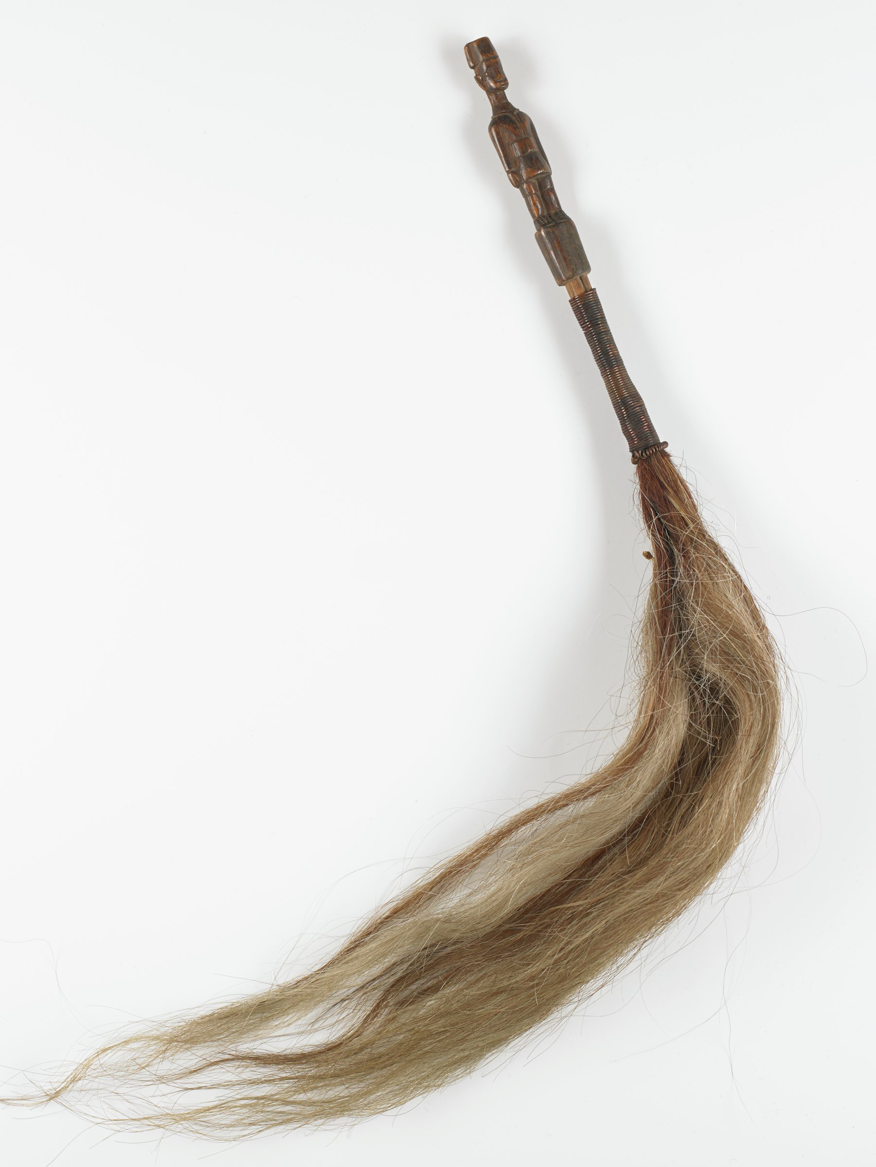 Fly Whisk, Western Nigeria, African, wood