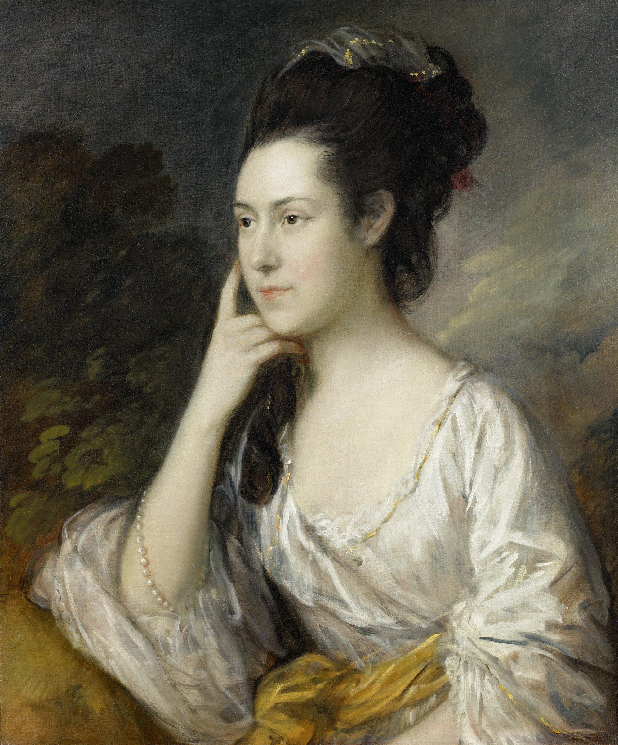 Sarah Rowlls Chad, Thomas Gainsborough, oil on canvas