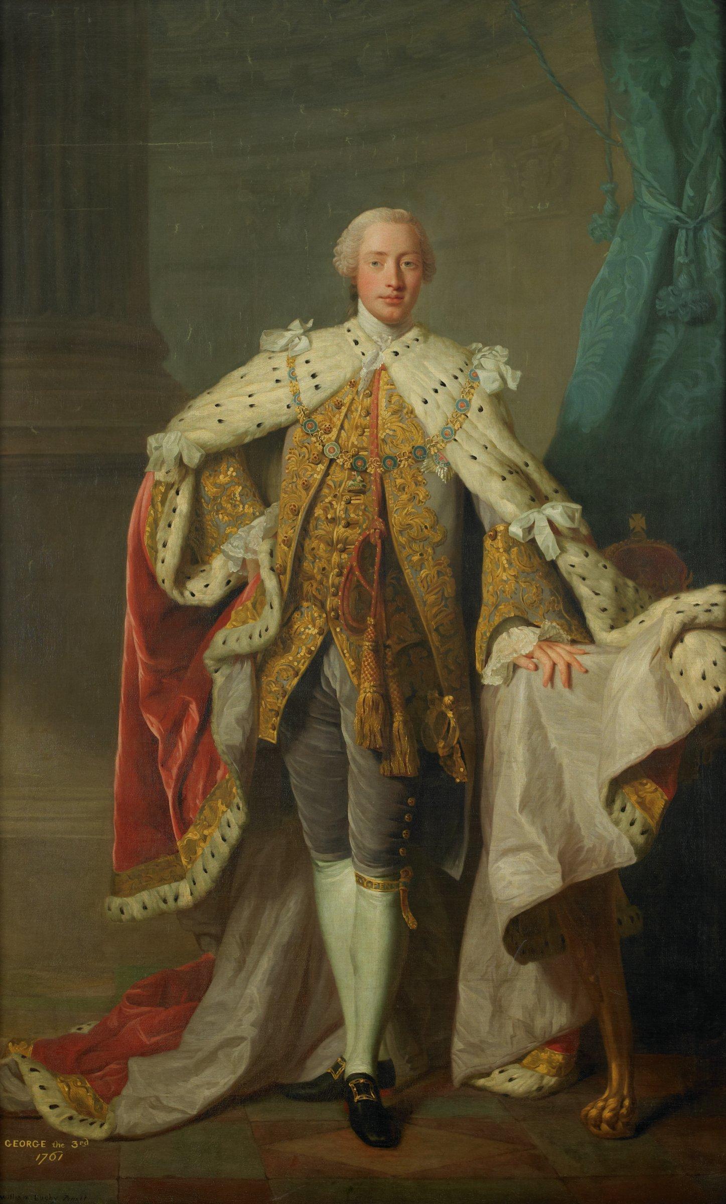 George III, William Buchy, oil on canvas
